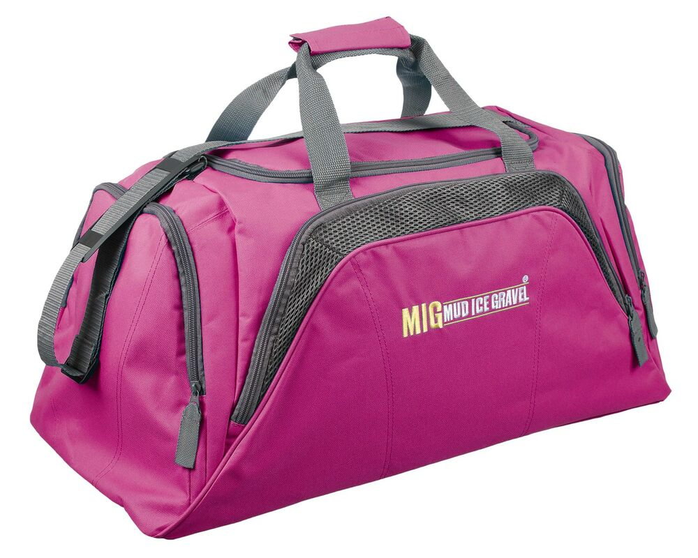 Pinkgymgirl Squishy Collection : Ladies Large Pink Travel Holdall Bag - SPORTS DUFFLE FITNESS TRAVEL GYM - 26 eBay