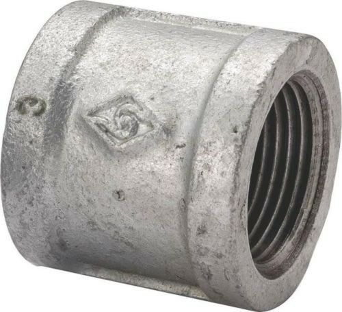 Lot inch galvanized pipe threaded coupling