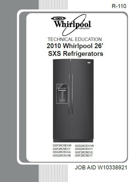 Whirlpool Wed9200sq service Manual on