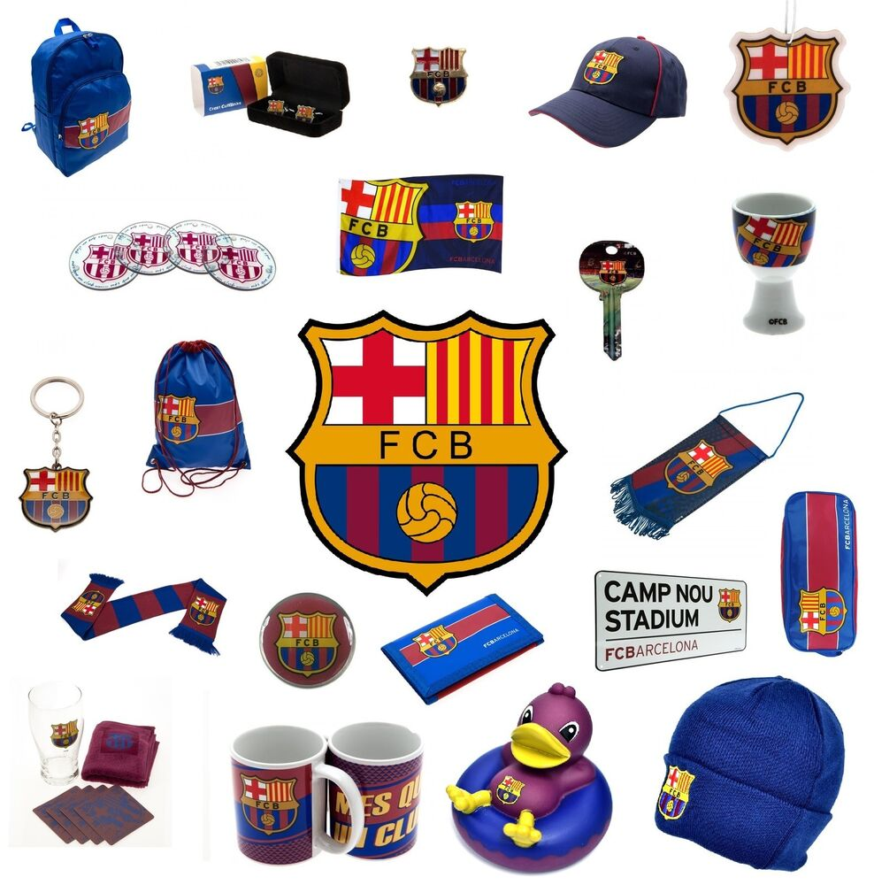 f c barcelona official football club merchandise gift xmas birthday ebay. Black Bedroom Furniture Sets. Home Design Ideas