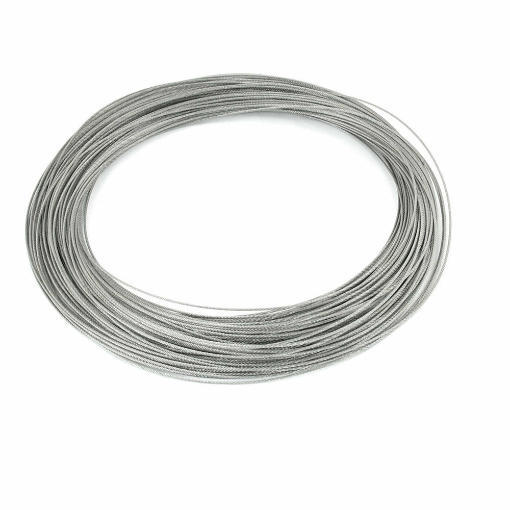 Mm dia m length stainless steel wire rope cable