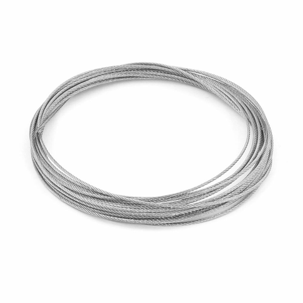 Steel Cable Wire : Mm dia m long flexible stainless steel wire