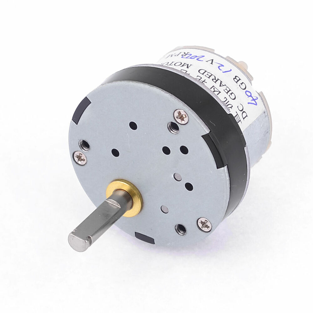 200rpm Output Speed Reducing 5mm Shaft Dia Gearbox Geared