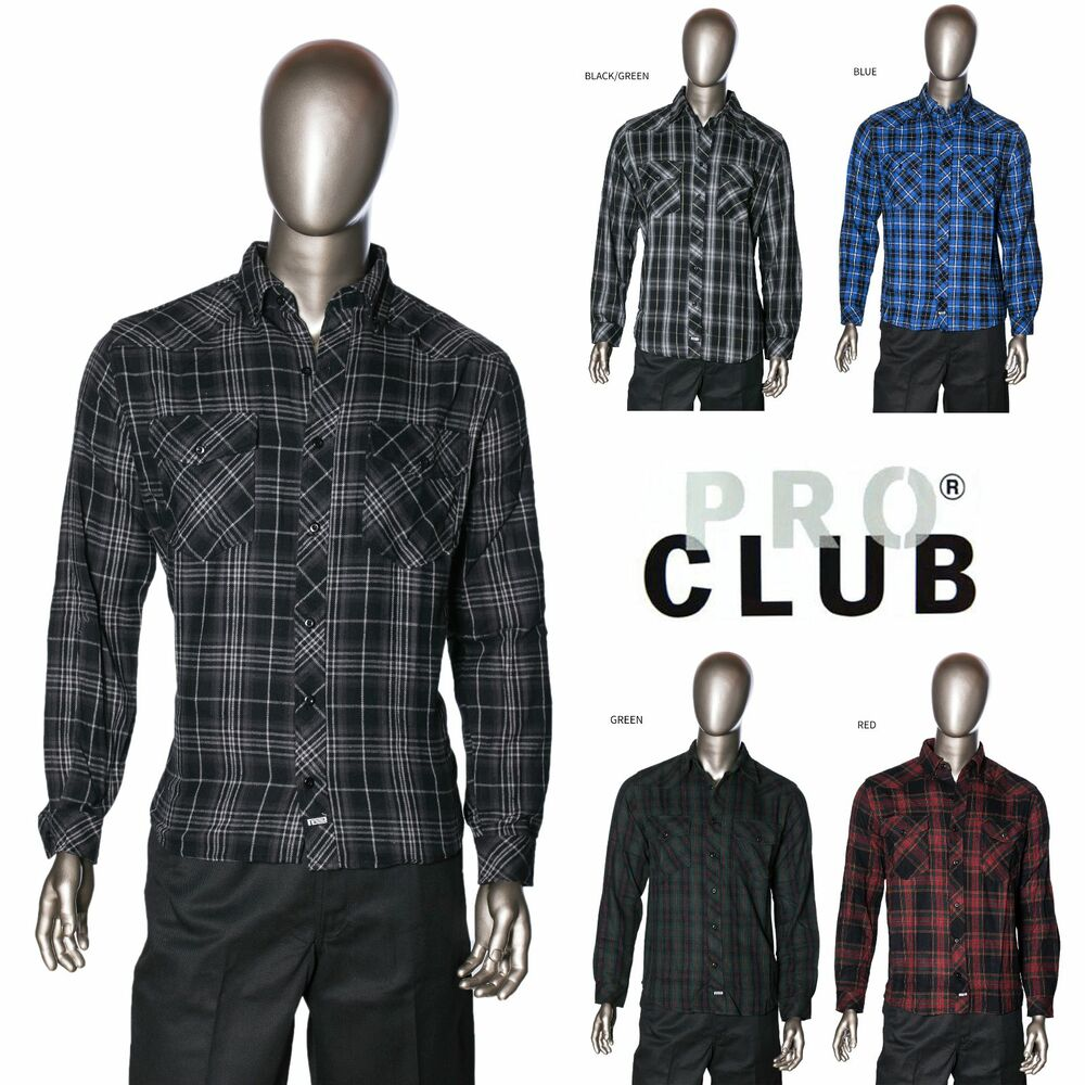 Mens Heavy Flannel Shirt