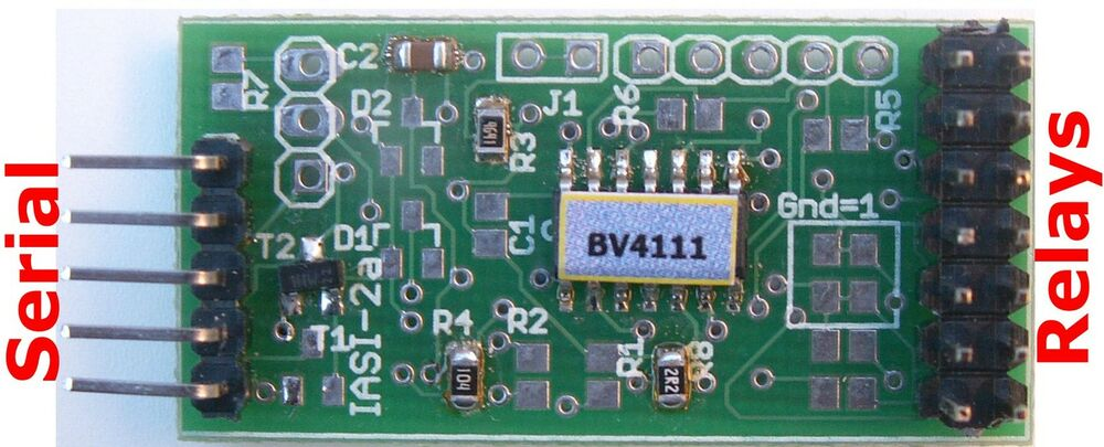 Relay boards: Relay board for PIC, AVR, Arduino or
