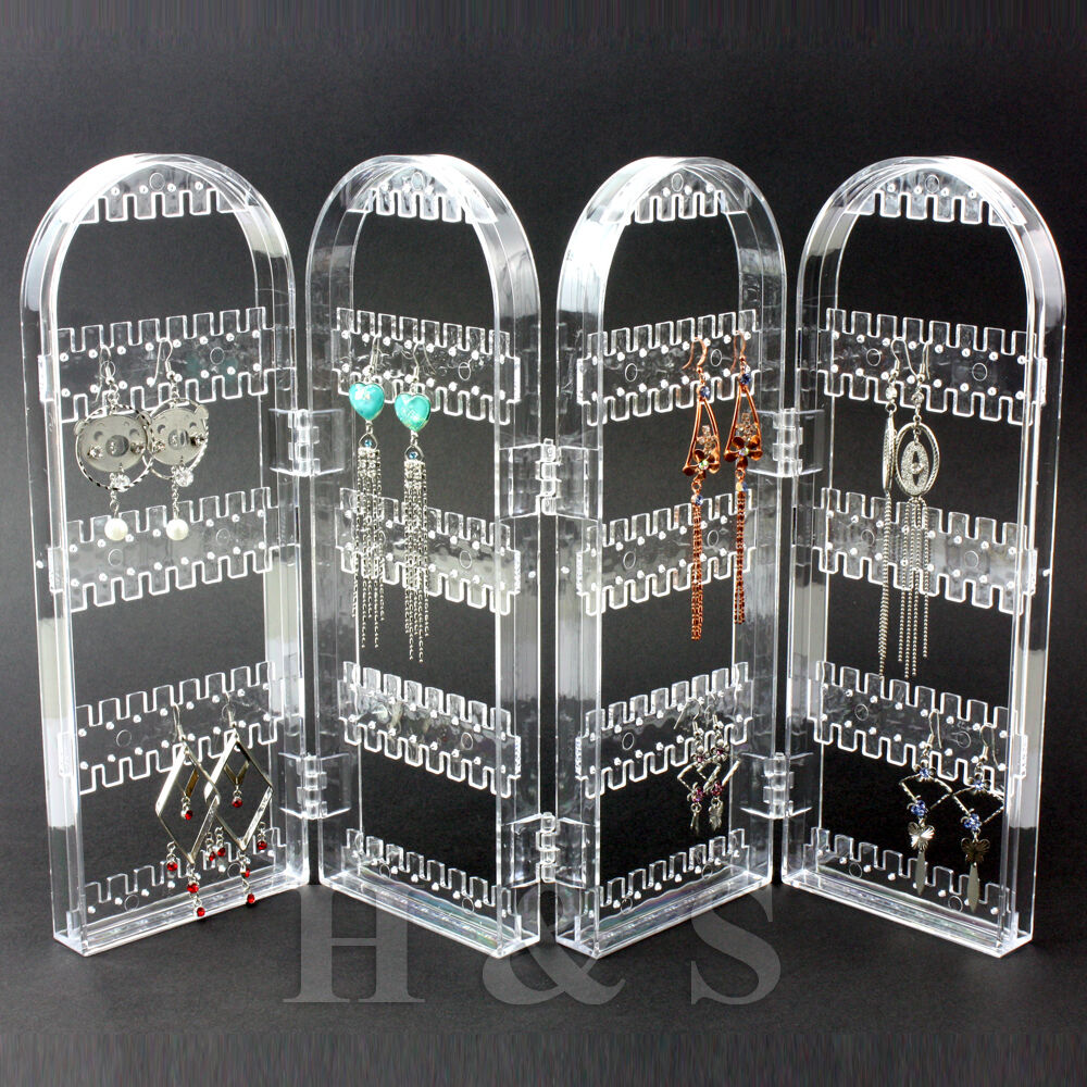 Screen Stud Earring Jewellery Display Stand Unit Holder Storage