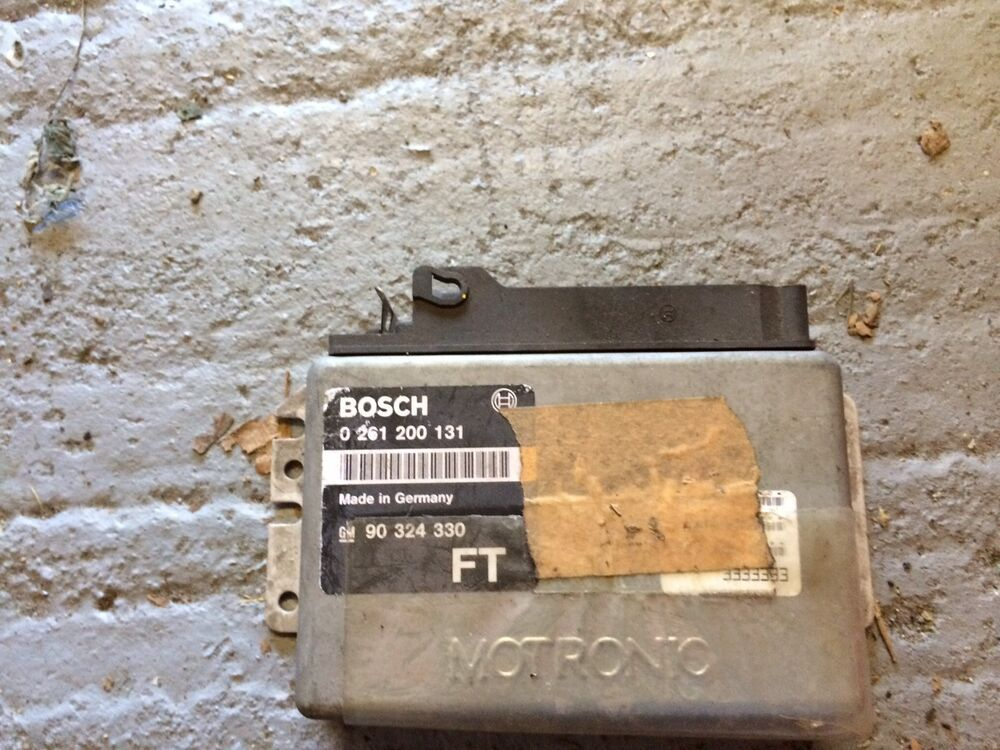 vauxhall cavalier mk3 2 0 2000 c20ne bosch motronic ecu ebay. Black Bedroom Furniture Sets. Home Design Ideas