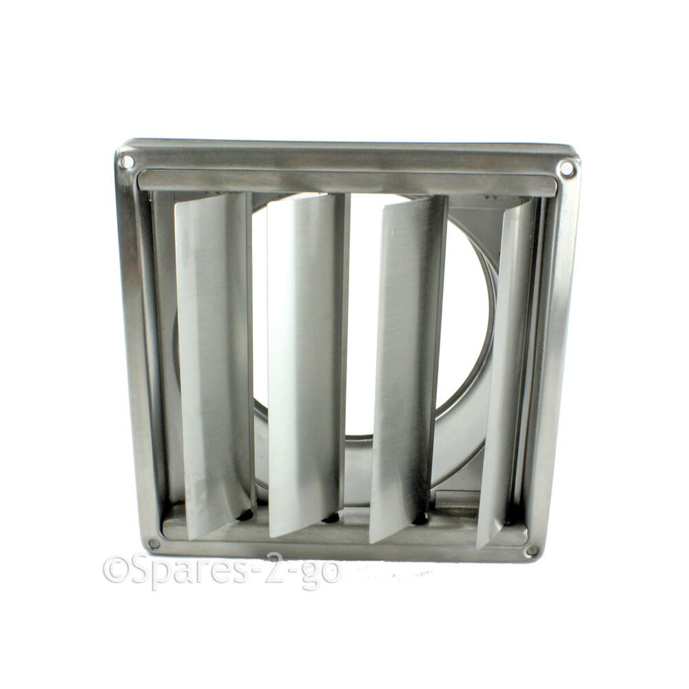 Stainless steel wall air conditioning external vent outlet