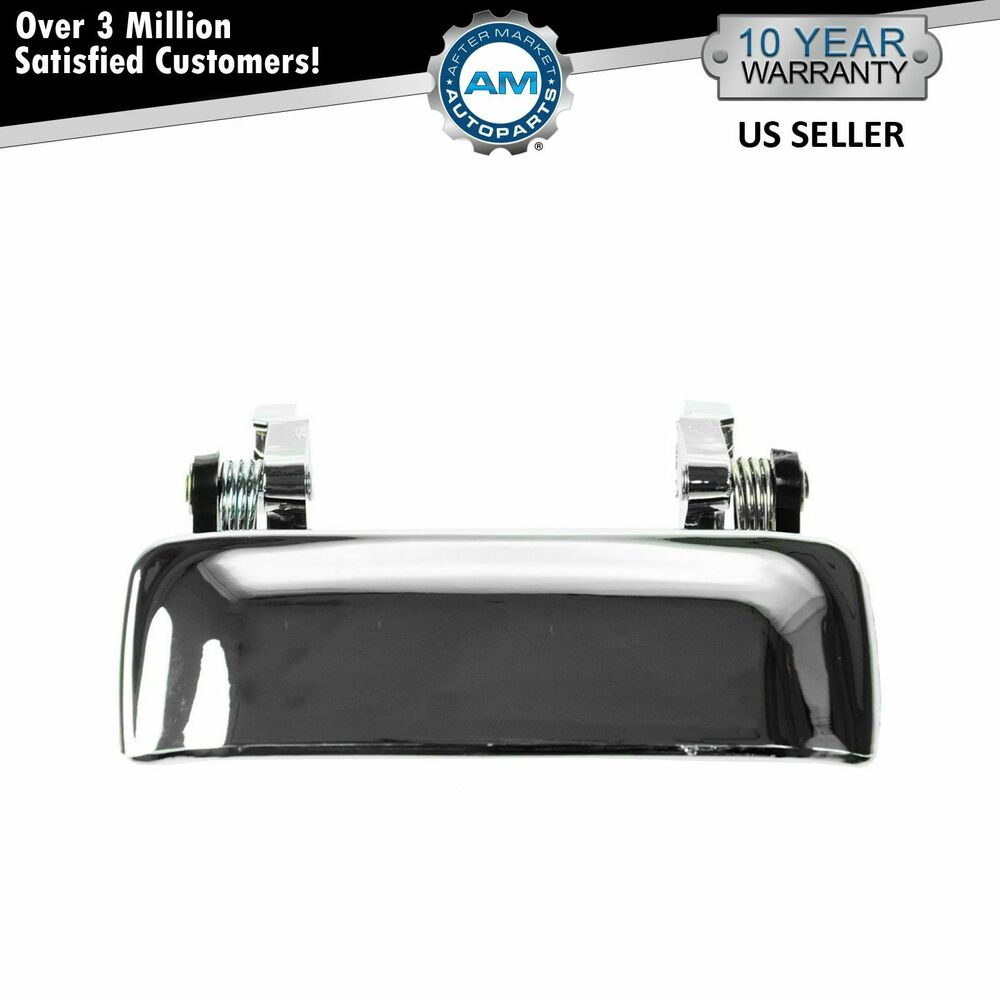 door handle front outer chrome left lh or right rh for