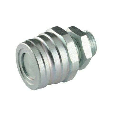 Flowfit hydraulic trailer brake quick release coupling