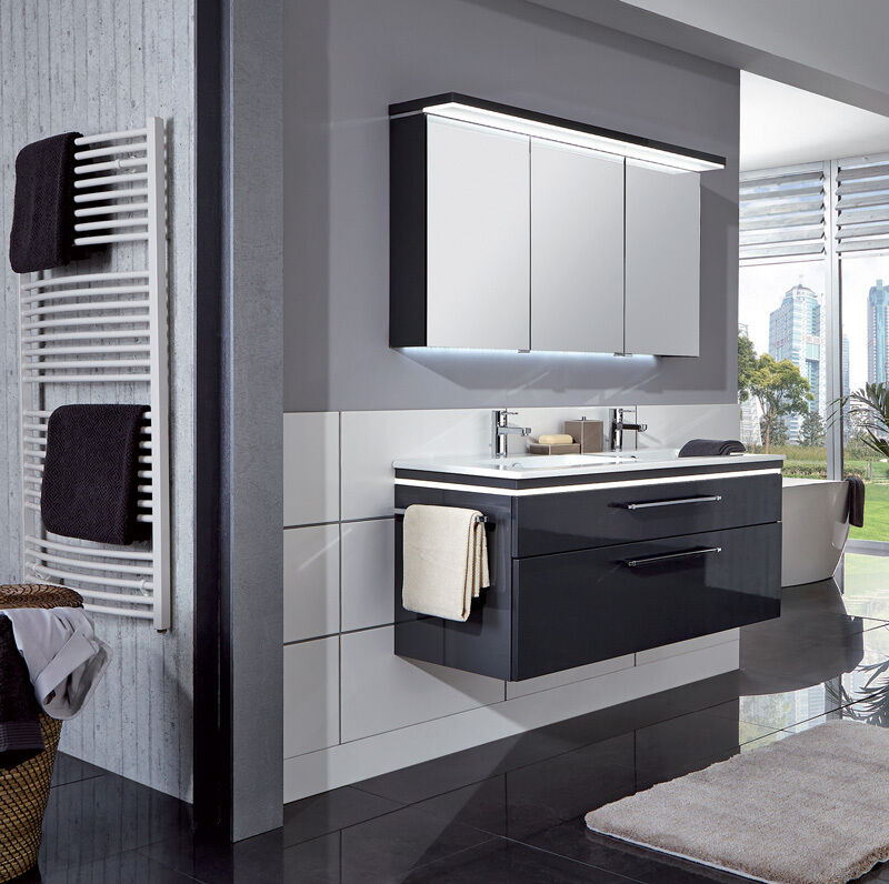 puris badm bel cool line anthrazit hochglanz keramik. Black Bedroom Furniture Sets. Home Design Ideas