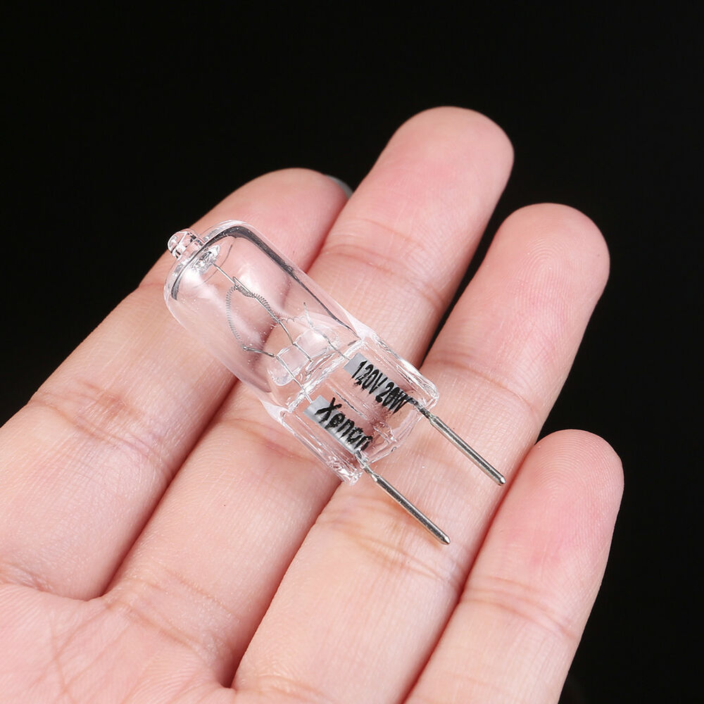 new g8 base jcd halogen light bulb 120v 20w 20 watt 2 pcs ebay. Black Bedroom Furniture Sets. Home Design Ideas