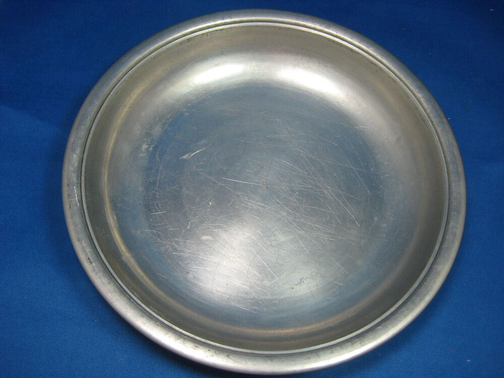 Antique Pewter Plates : Year a k h very old dia quot antique german pewter
