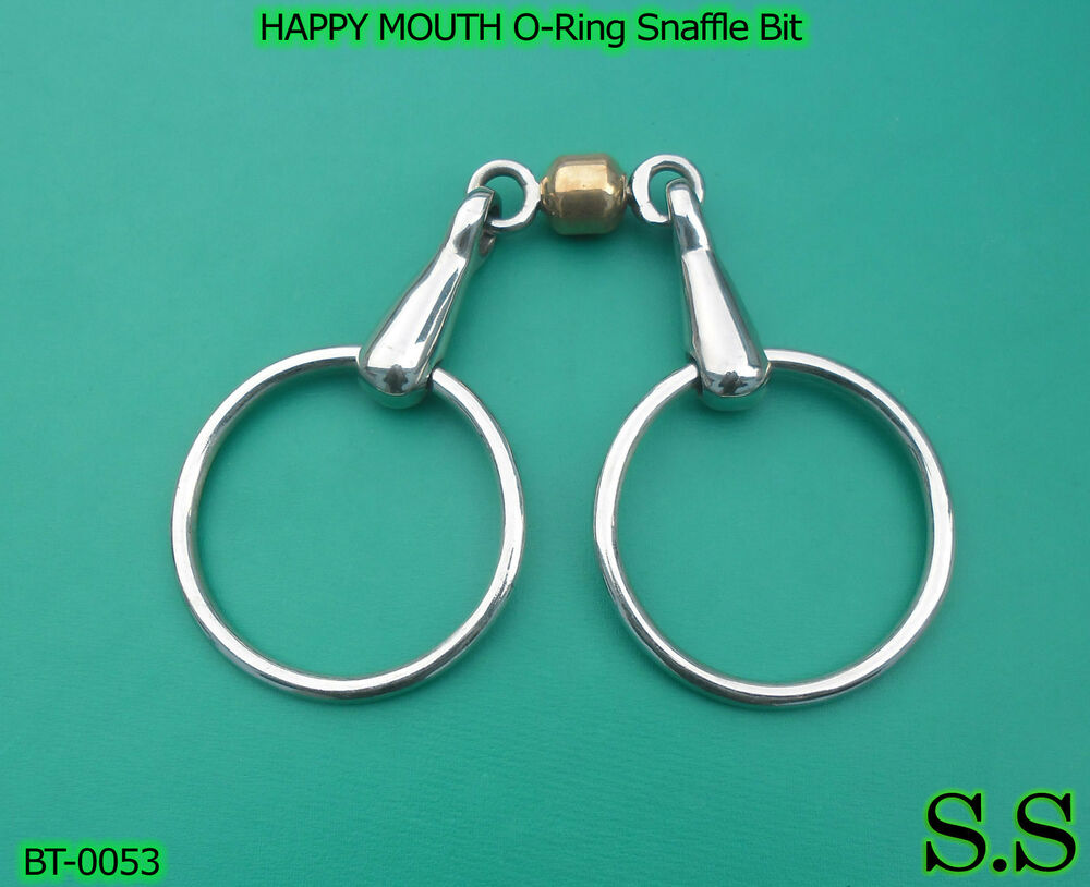 Happy Mouth O Ring Snaffle Bit Bt 0053 Ebay