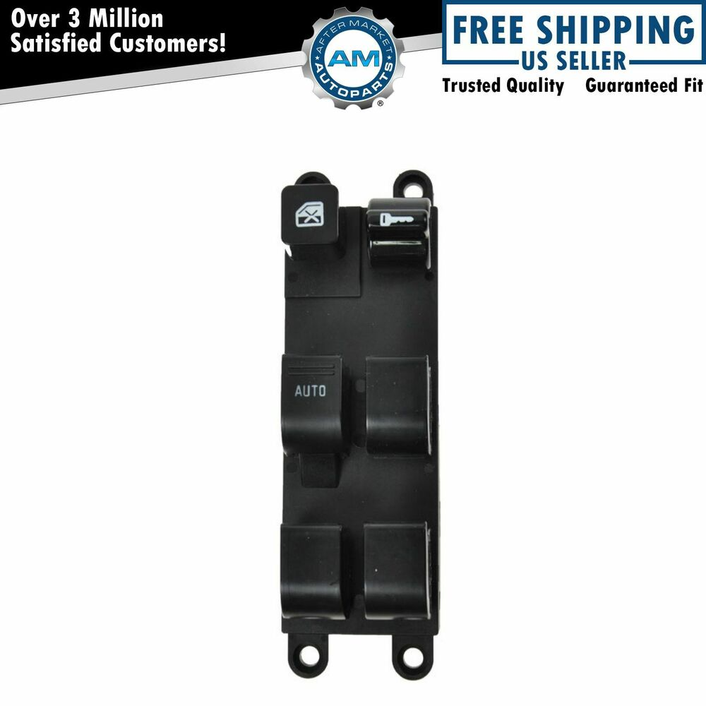 Front master power window lock switch driver left lh for for 2000 nissan altima window switch