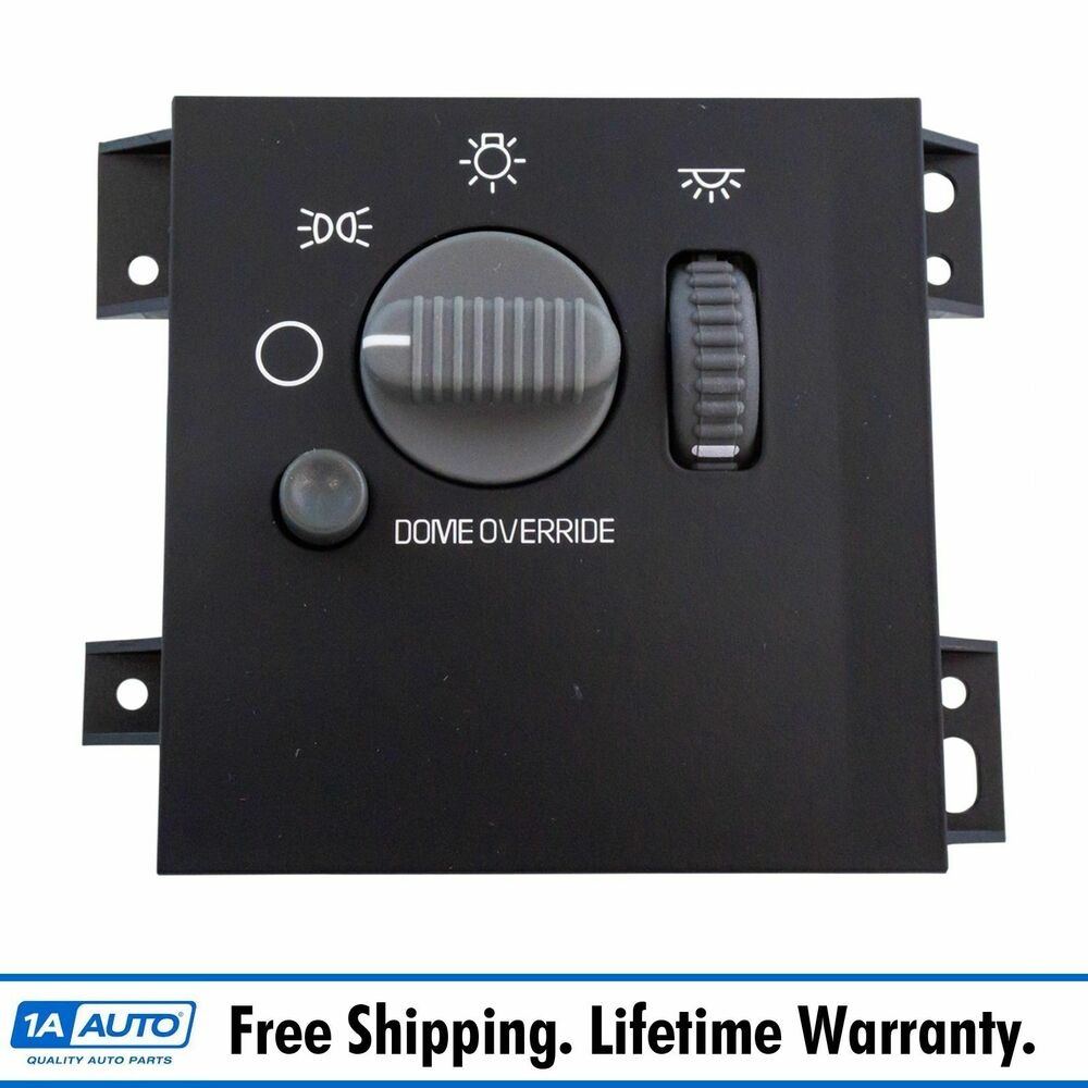 headlight lamp dome dimmer interior switch for chevy gmc. Black Bedroom Furniture Sets. Home Design Ideas