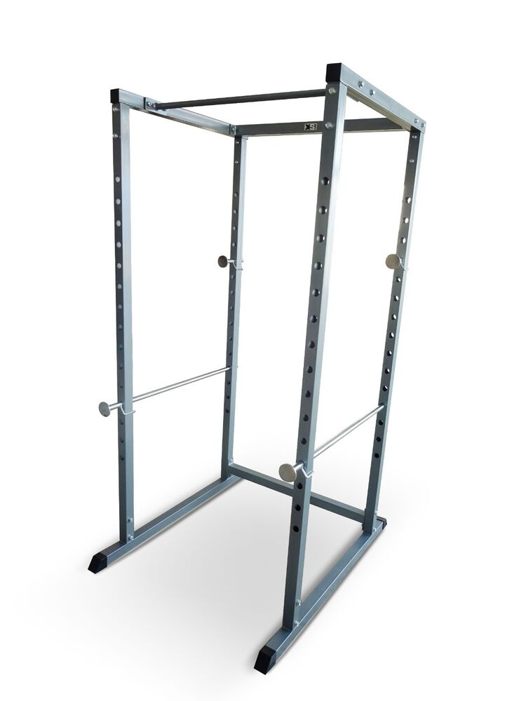 power rack pull up bar multi gym machine olympic cage bench press smith squat ebay. Black Bedroom Furniture Sets. Home Design Ideas
