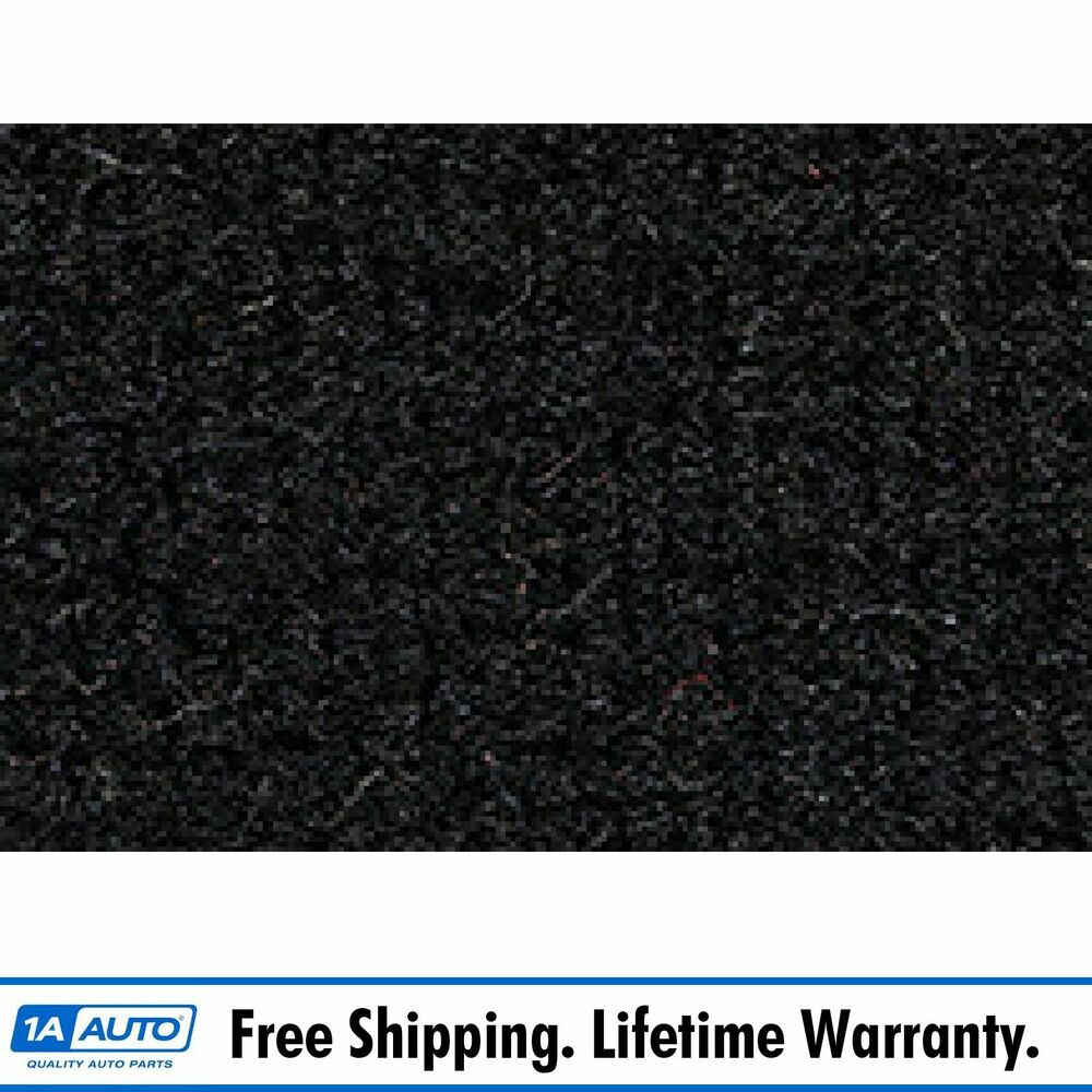 For 1977 Chevy Corvette With Padding Cutpile 801-Black