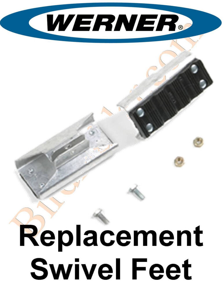 Werner 26 1 Replacement Shoe Feet Kit Aluminum