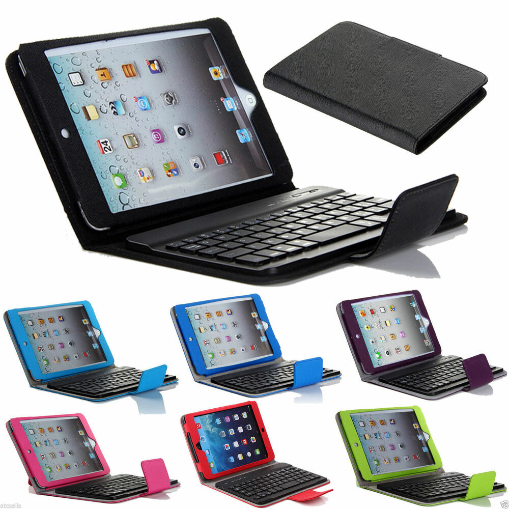 for apple ipad mini stand leather case cover with. Black Bedroom Furniture Sets. Home Design Ideas