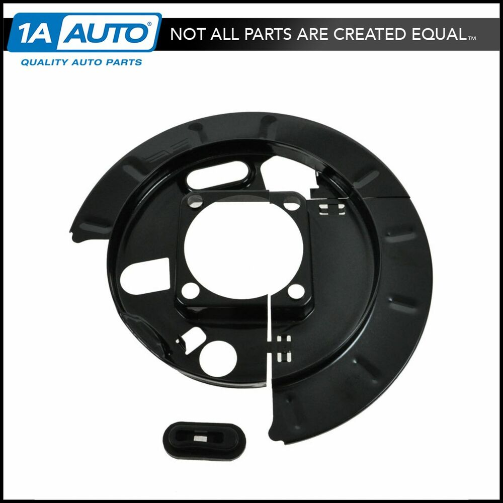 Chevy Truck Brake Backing Plate : Piece rear disc brakes backing plate lh or rh for chevy