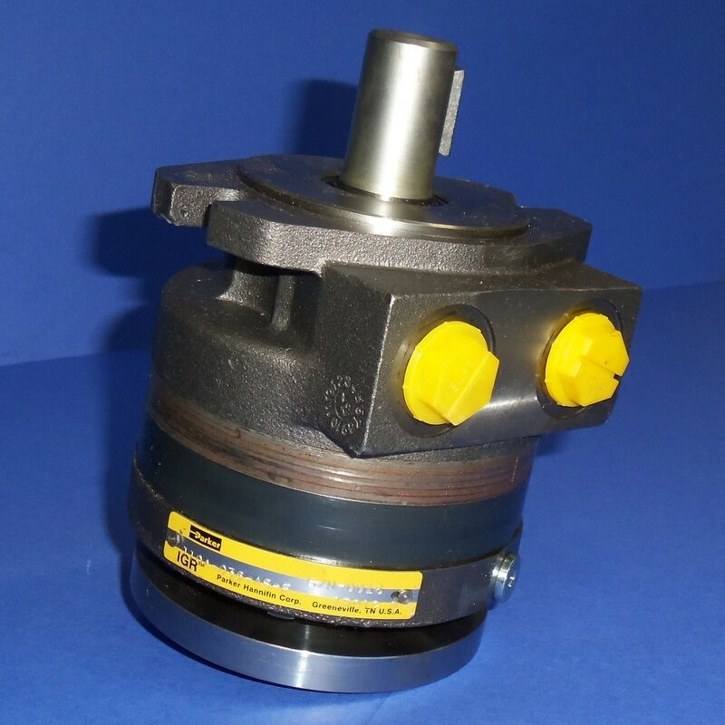Parker 1 shaft dia 3 4 npt hydraulic motor 110a 036 as for Parker ross hydraulic motor