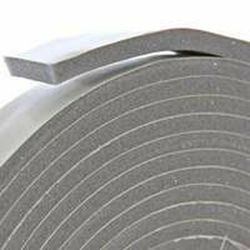 New frost king v445h gray foam weather stripping tape for 1 x 3 window