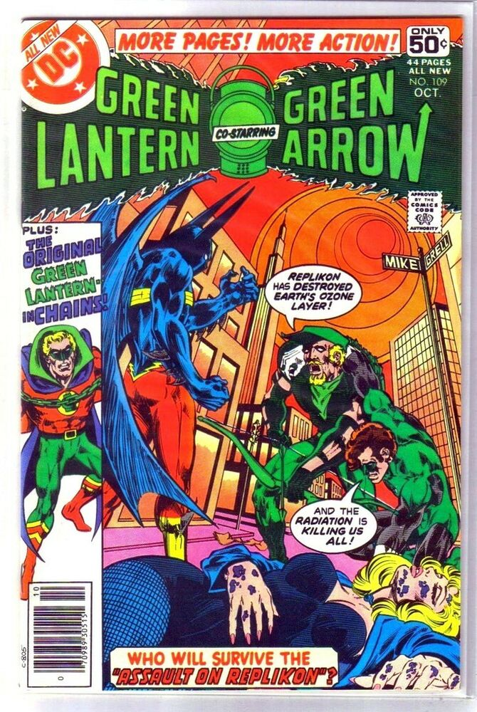 green lantern 109 assault on replikon dc 44 page comic book vf ebay