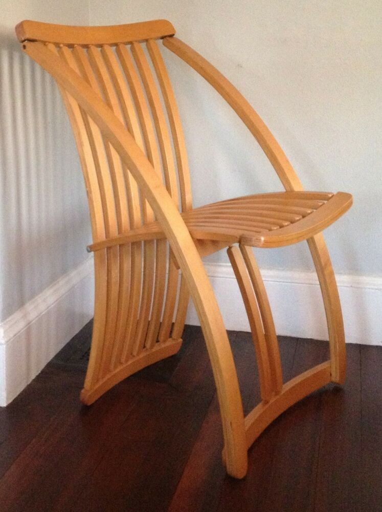 Rare Thomas Lamb Steamer Chair Mid Century Modern Folding