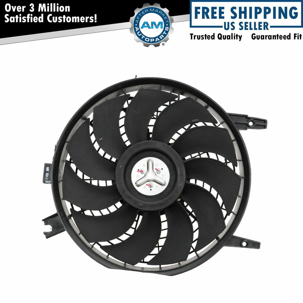Air Conditioner A C Condenser Cooling Fan W Motor For 95