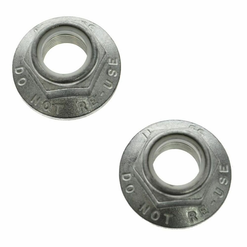 Front Spindle Axle Nut 36mm Pair For Charger Challenger