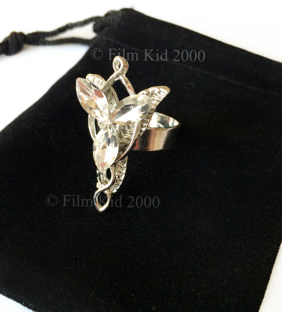 arwen evenstar necklace ring hobbit lotr lord of the rings