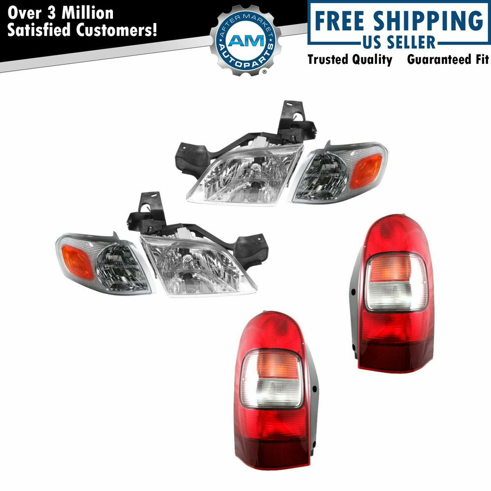 headlight parking light lamp taillight kit for gm chevy. Black Bedroom Furniture Sets. Home Design Ideas
