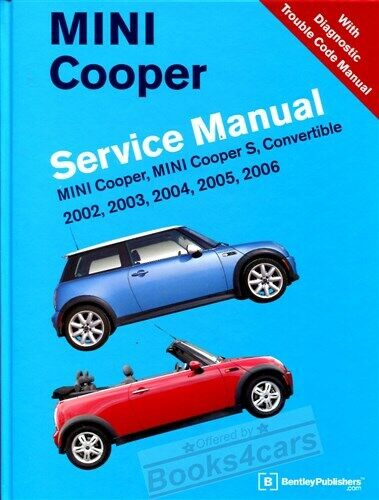 Shop Manual Mini Service Repair Cooper Bentley Book Haynes