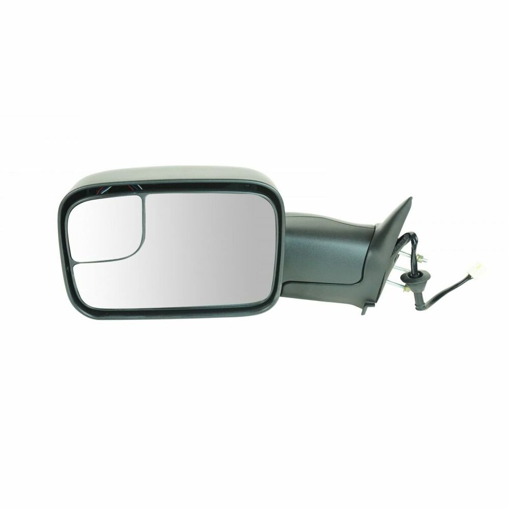 Mirror Power Heated Towing Driver Side Left Lh For Dodge