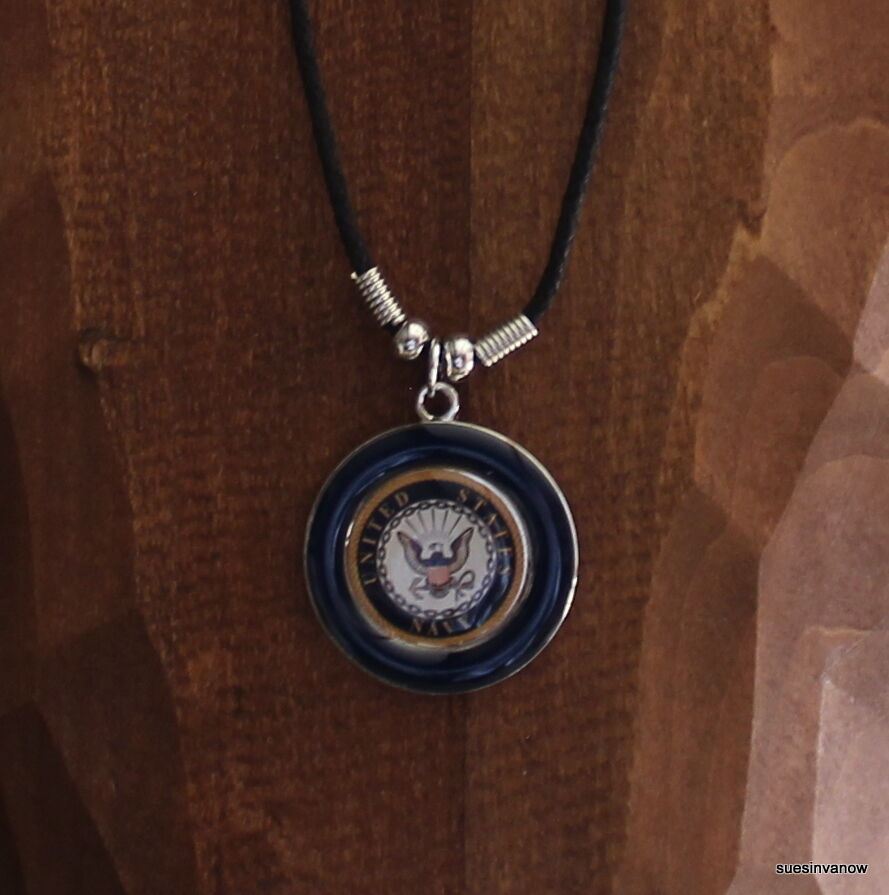 United States Navy Necklace Mens Jewelry Military Honor ...
