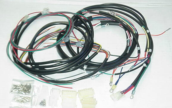 new 1978 79 harley davidson fxe complete wiring harness ebay. Black Bedroom Furniture Sets. Home Design Ideas