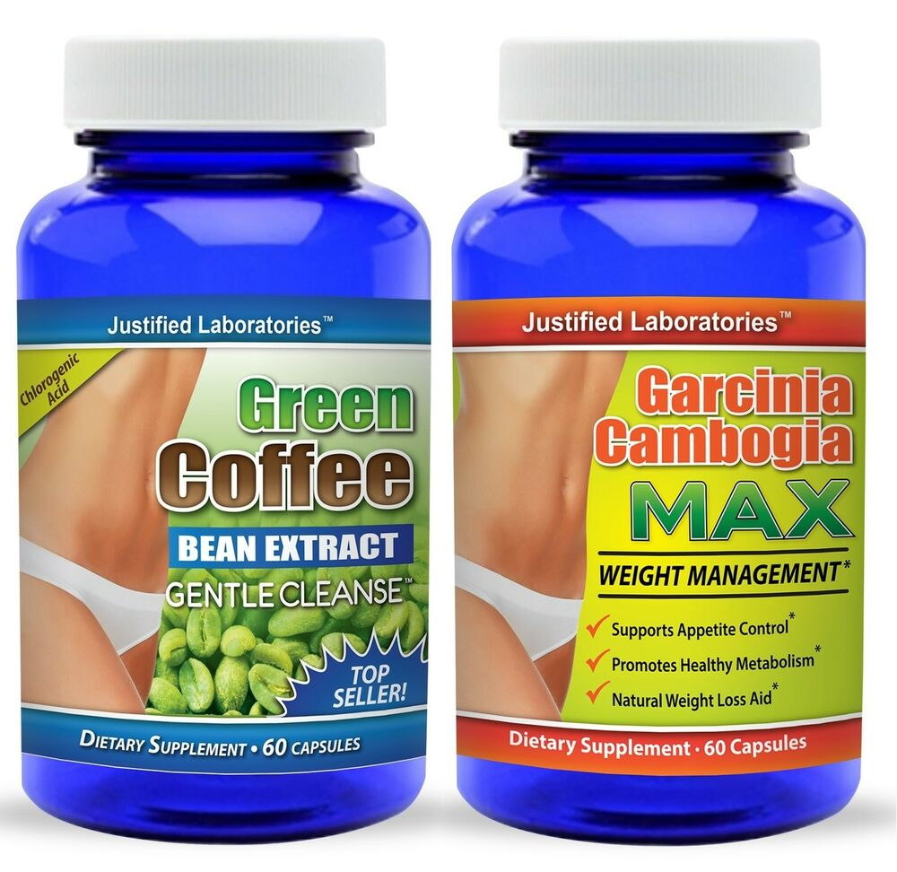 Pure Green Coffee Bean Extract Cleanse Pure Garcinia Cambogia 60% HCA 120 Pills | eBay