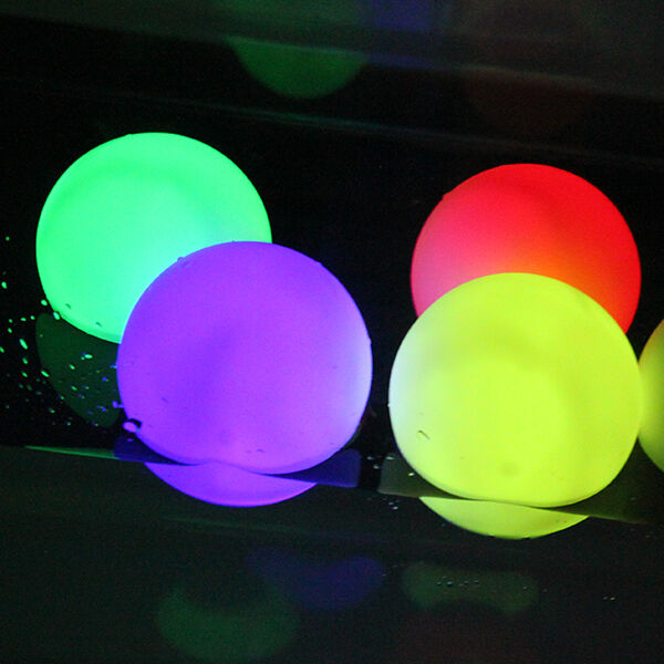 Rgb Color Changing Led Floating Lights Ball For Party Pond