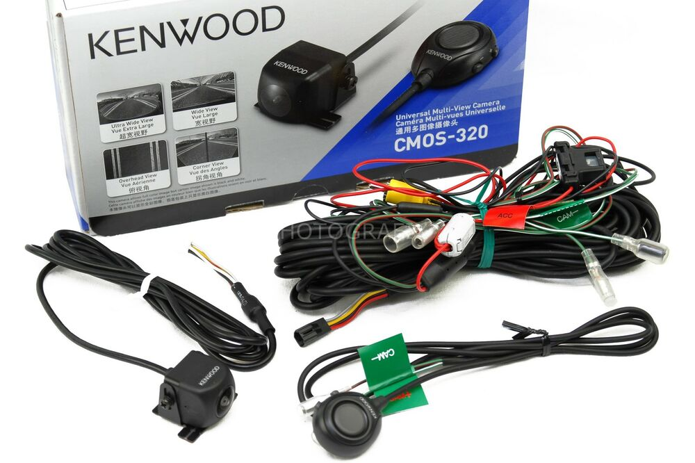 Kenwood    CMOS   320 Universal RearView Car Backup    Camera