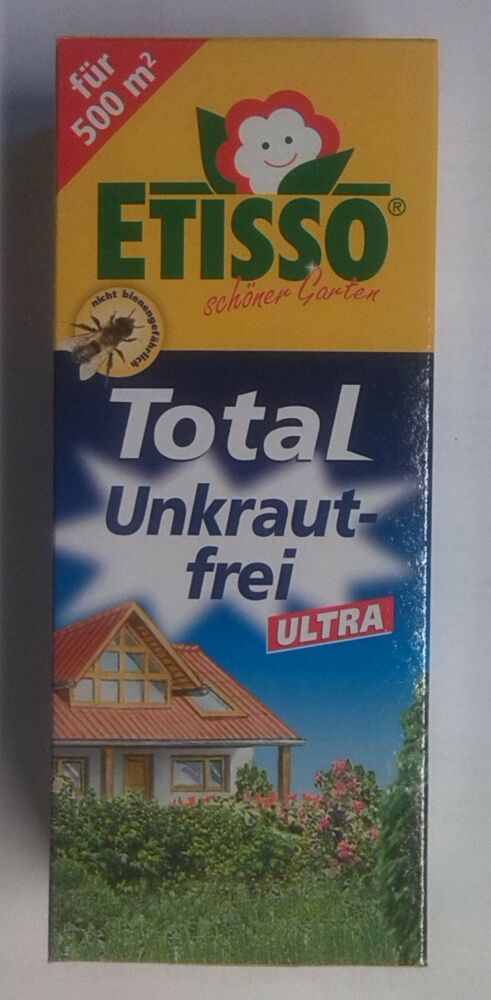 250 ml etisso total unkraut ex glyphosat 360 unkrautex. Black Bedroom Furniture Sets. Home Design Ideas
