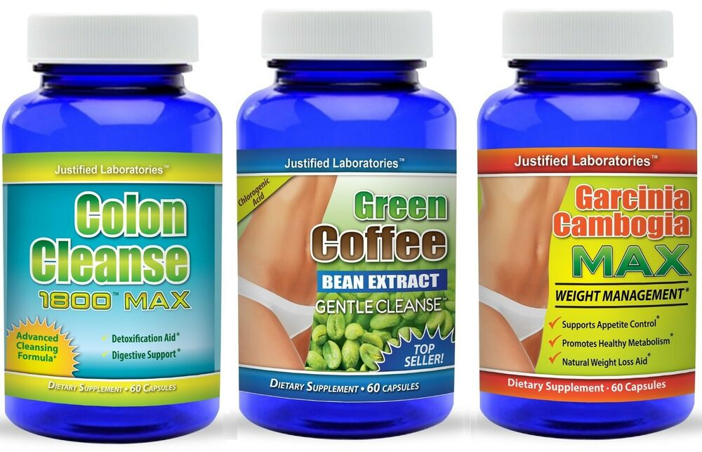 Colon Cleanse Garcinia Cambogia Green Coffee Bean Cleanse Weight Loss Diet | eBay