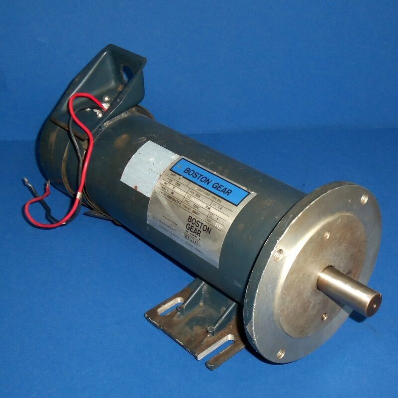 Boston Gear 1725 Rpm 1hp Motor Pm9100atf I Ebay