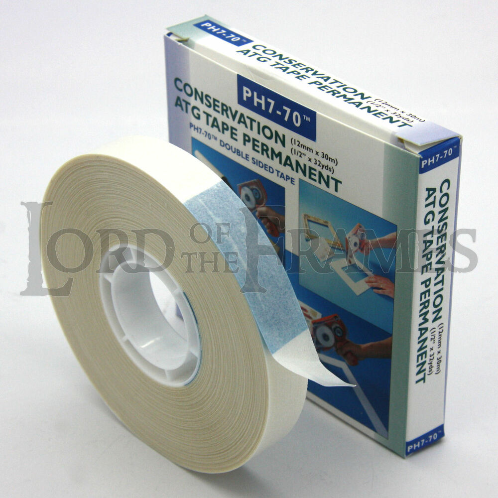 12mm X 30m Atg Tape Ph7 70 Acid Free Conservation Double