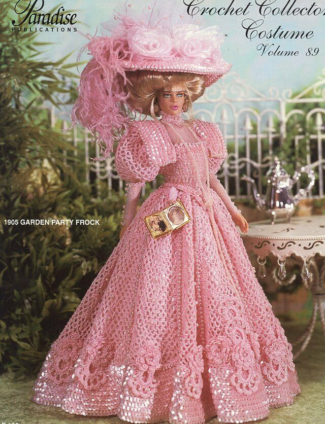 1905 Garden Party Frock For Barbie Doll Paradise 89