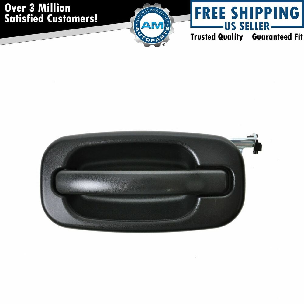 Door handle outside exterior rear driver side left lh for for External rear door