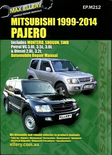 mitsubishi montero shop manual pajero service repair book 2000 2014 rh ebay com Mitsubishi Pajero 2000 2005 mitsubishi montero limited owners manual