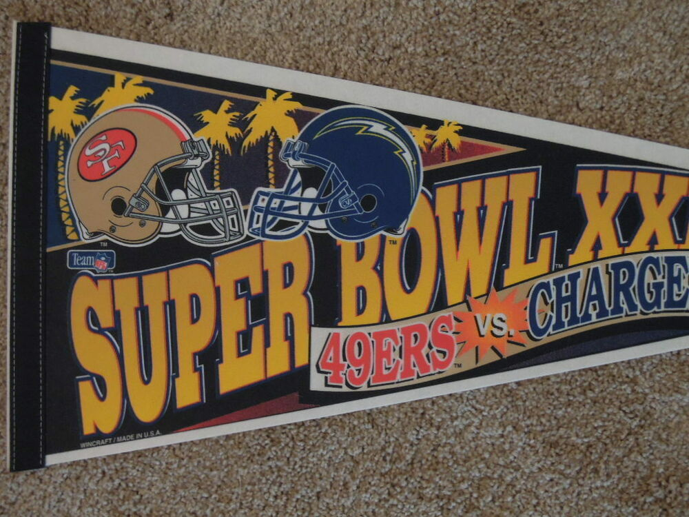 1995 San Francisco 49ers Vs San Diego Chargers Super Bowl
