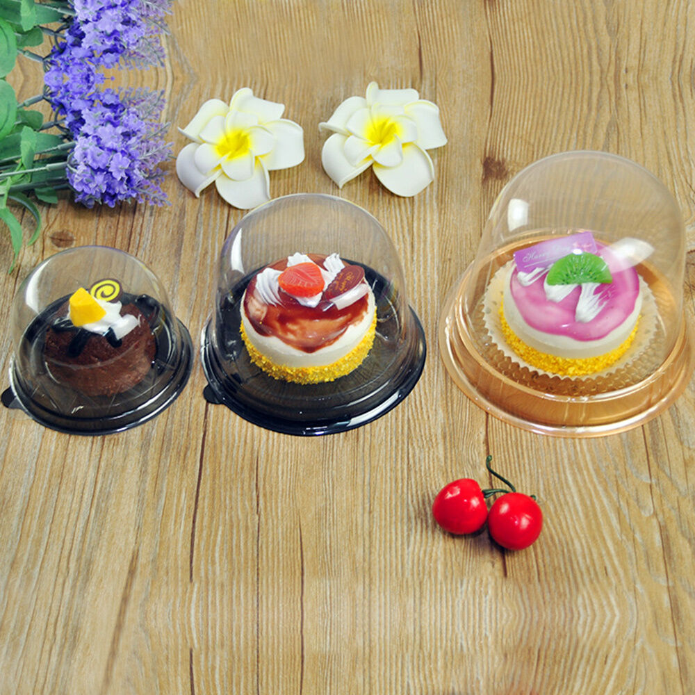 how to get mini cake in clear box