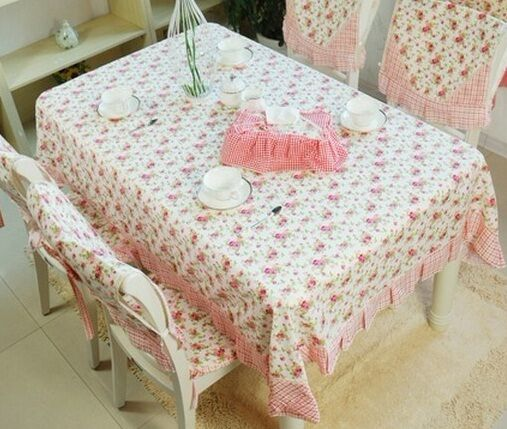 Dining Room Table Cover Pads: Fresh Garden Roses Dining Table Cloth Tablecloths Table